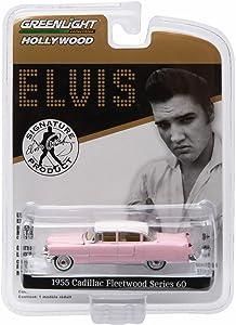 Greenlight 1955 Cadillac Fleetwood Series Elvis Presley 60 1:64 Pink 44740-C ,#G14E6GE4R-GE 4-TEW6W200315