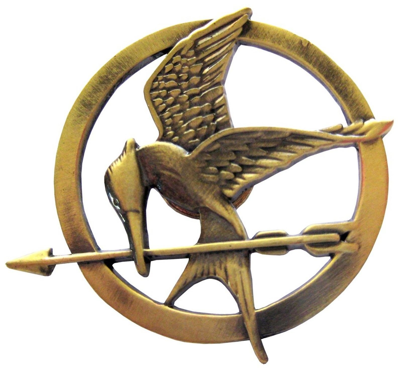 The Hunger Games Movie Mockingjay Prop Rep Pin
