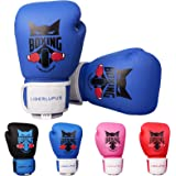 Liberlupus Kids Boxing Gloves for Boys and Girls, Boxing Gloves for Kids 3-15, Youth Boxing Training Gloves, Kids Sparring Pu