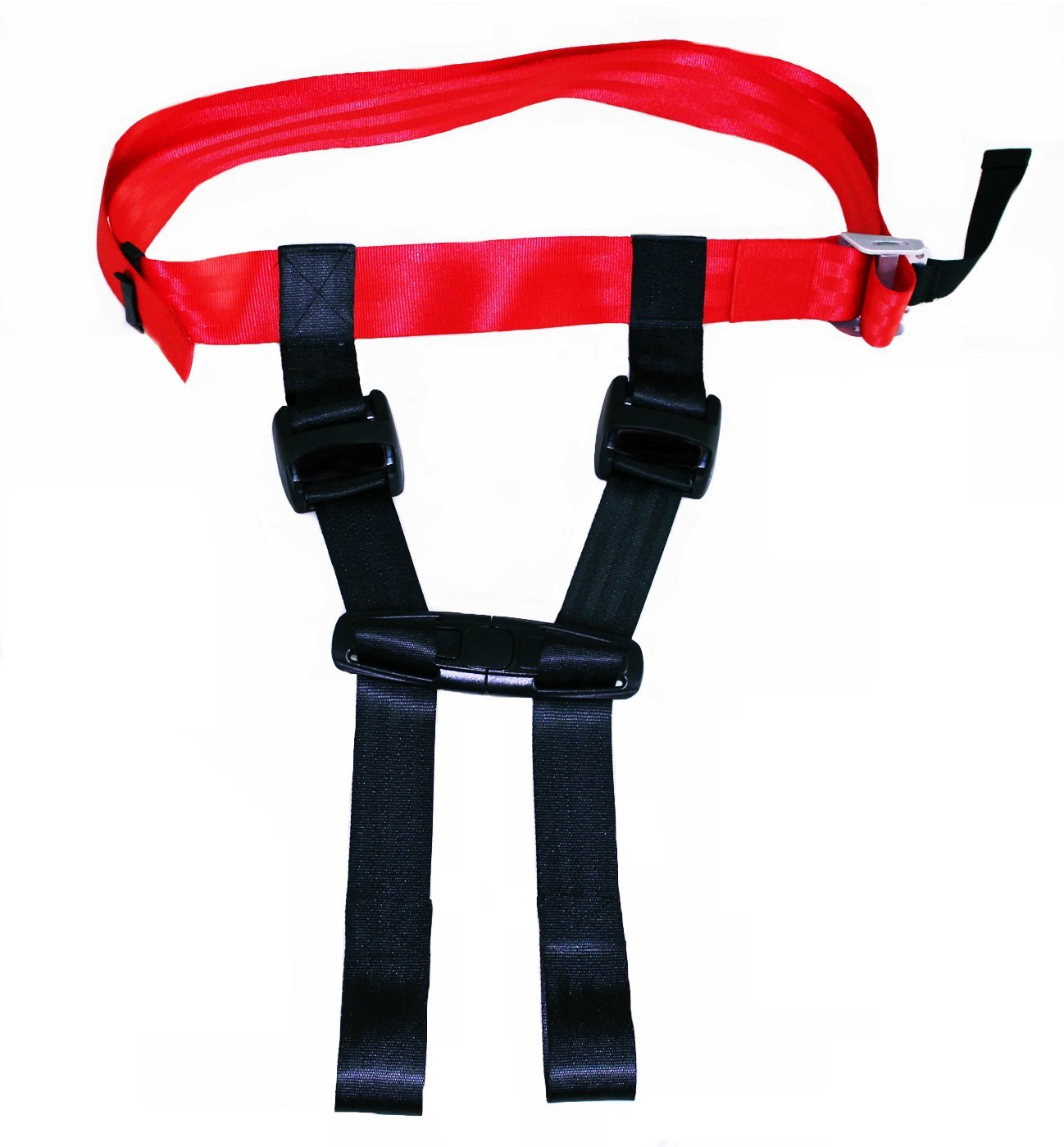 Thorium Safety Airplane Child Harness Strap Seat Belt Protector Complete with Comfortable Kids Travel Neck Pillow by Thorium (Image #2)