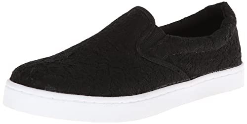 Wild Pair Women's Alondra Fashion Sneaker,Black Lace,8.5 M US
