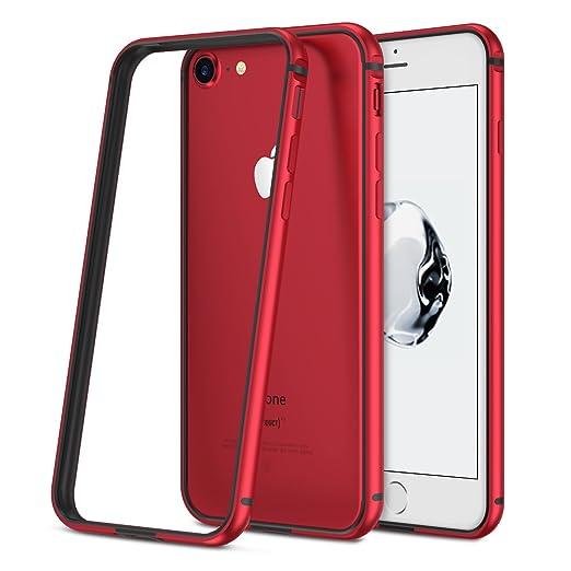 4 opinioni per iPhone 7 Custodia, RANVOO Antigraffio, Telaio in Alluminio & interno TPU