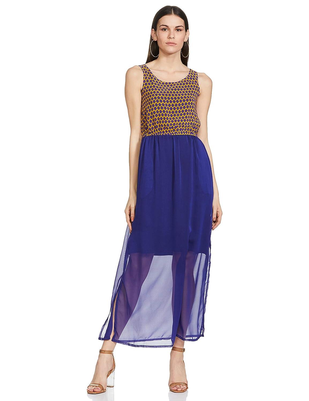 global desi Women's A-Line Dress