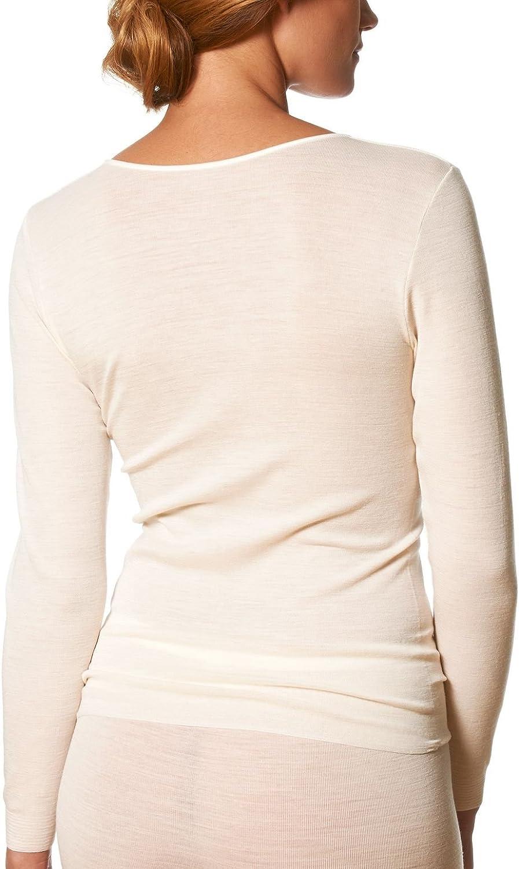 Mey Primera Off-White Long Sleeve Top 66577