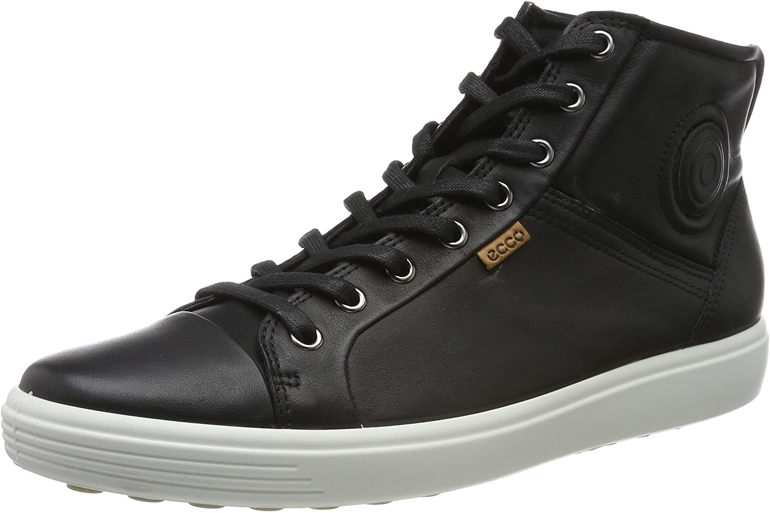 ecco womens leather sneakers