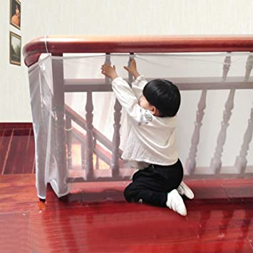 Balkon Sicherheitsnetz Kindersicherung Baby Sicherheit Balkon Treppe
