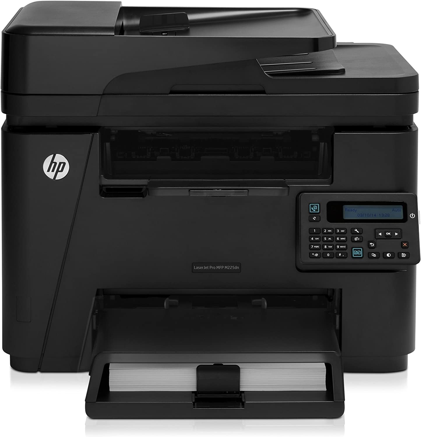 HP CF484A LaserJet Pro MFP M225DN Multifunction Laser Printer, Copy/Fax/Print/Scan