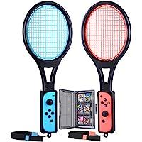 Tendak Tennisracket voor Nintendo Switch Mario Tennis Aces Games Tennisracket voor Joy-Con controllers met 12 in 1 Games…