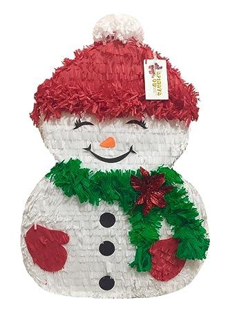 Amazon Com APINATA4U Christmas Snowman Pinata 24