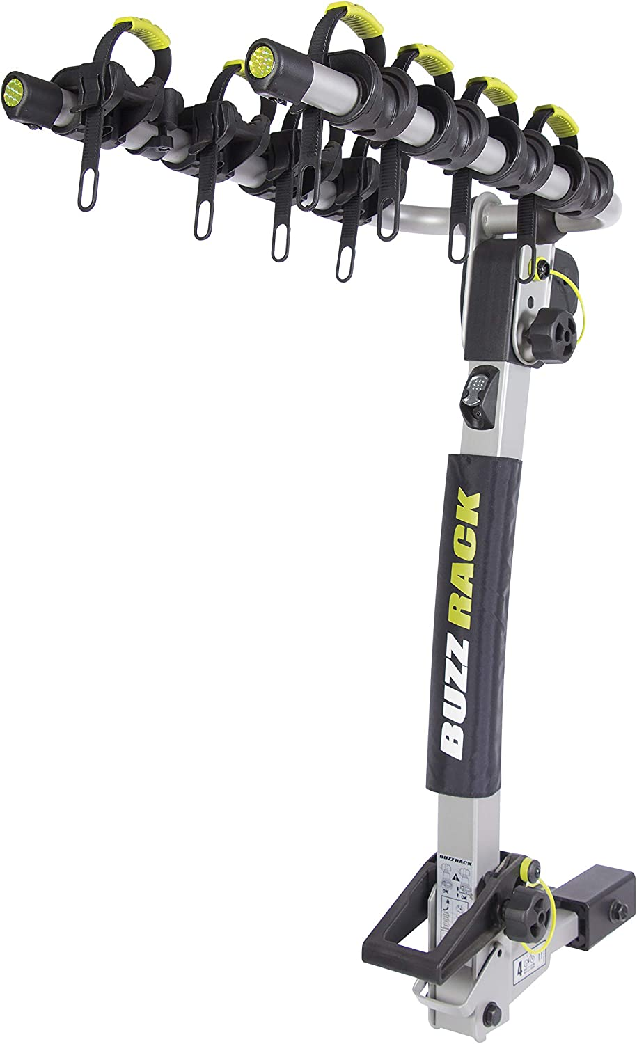 BUZZ RACK Hotshot 4-Bike Hitch Rack