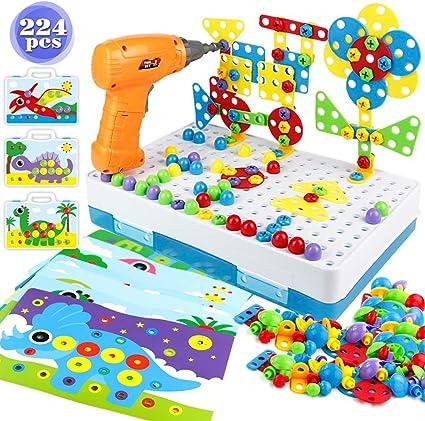 yoptote Juguetes Montessori Puzzles 3D Mosaicos Infantiles ...