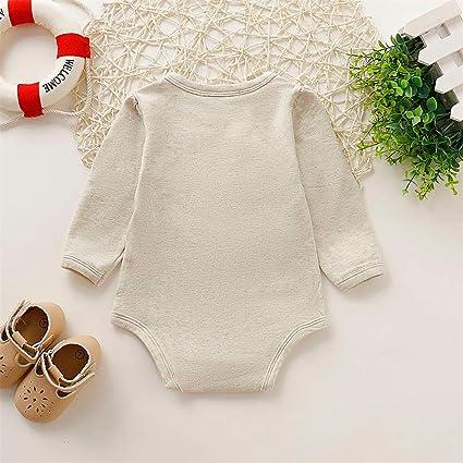 Wang-RX Ropa Infantil para bebés Niños Niñas Manga Larga ...