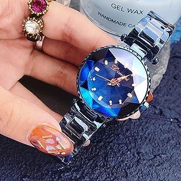 JingJingQi Reloj Inteligente 2019 Relojes para Mujer Marca ...