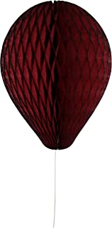 product image for 6-Pack 11 Inch Honeycomb Tissue Paper Balloon (Maroon)