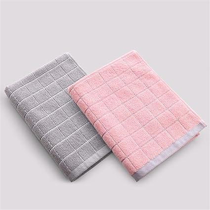 Toalla de cara suave de algodón puro cute polka dot lavar toallas/parejas masculinas y