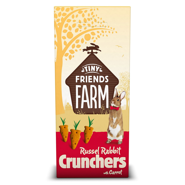 Supreme Russel Rabbit Carrot Cruncher Treats 80g (Bulk deal of 8) 640g SPR13973