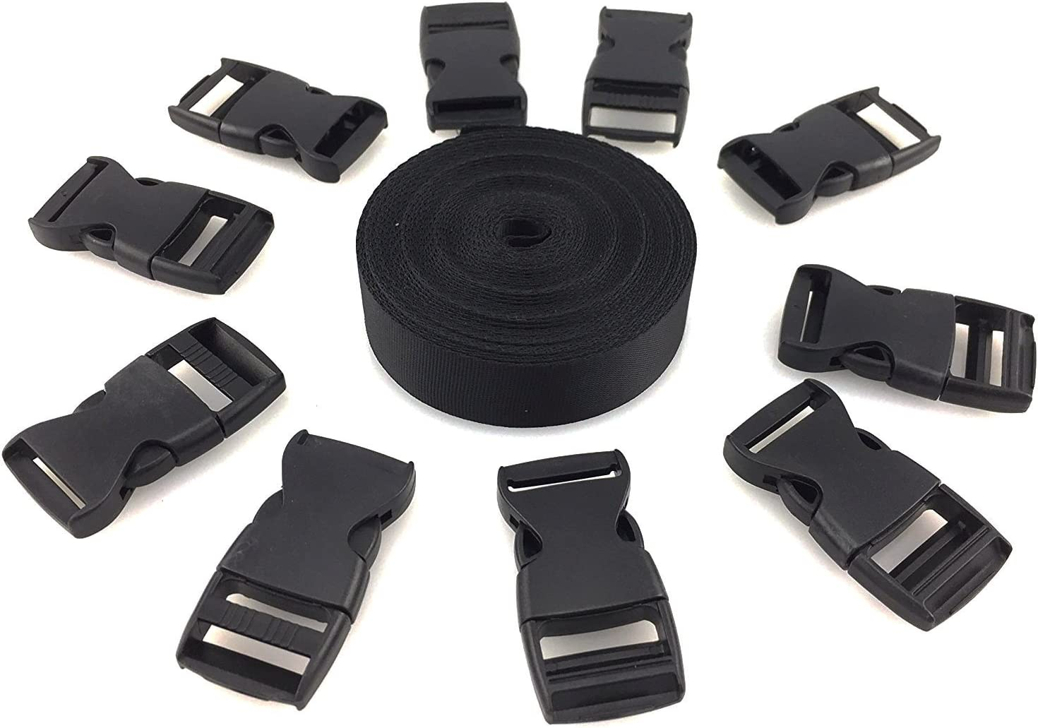plastic clips for nylon straps