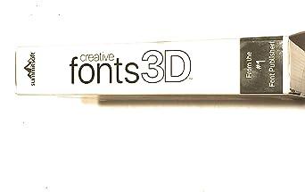 Amazon com: Creative Fonts 3D