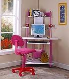 Amazon Com Legare 34 Inch Kids Desk Purple And White