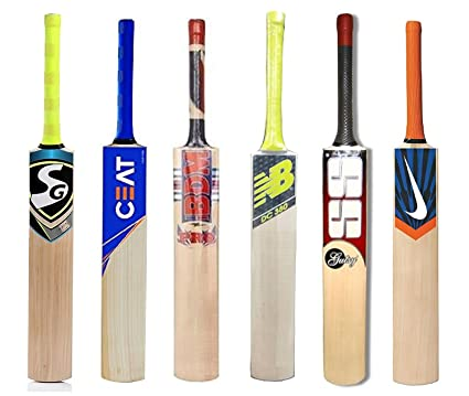 f3f069f58 Buy Samaira Sunshine Kashmir Willow Cricket Bat With Brand Logo (Full Size)  - Set Of 1 Online at Low Prices in India - Amazon.in