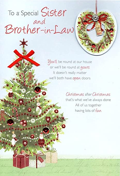 Amazon.com: Special Sister & Brother-in-Law Christmas ...