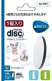 ブリタ マイクロディスク 浄水 フィルター カートリッジ 1個入り 【日本仕様・日本正規品】