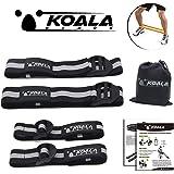 (コアラバンド) KOALA BANDS 加圧バンド トレーニングベルト 腕用 脚用 筋トレ 4本セット 初心者 簡易ケース付き