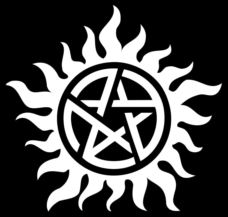 Amazon Anti Posession Symbol Supernatural Die Cut Vinyl Decal