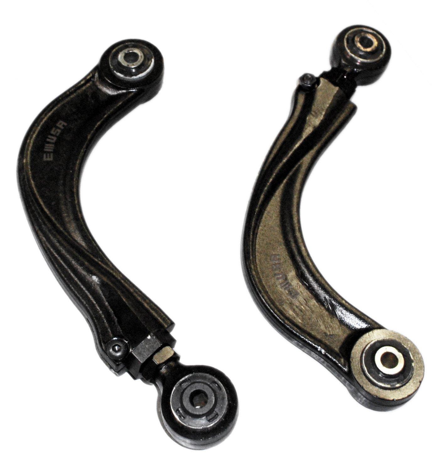 BLACK 04up Mazda 3,06up Mazda 5,00-07 Ford Focus, SVT,04up Volvo S40 V50 Adjustable Rear Camber Kits