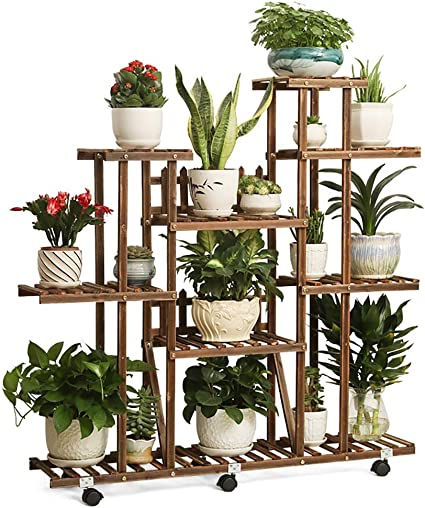 Estantes para plantas / estanteria jardin Soporte de flor de ...
