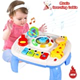 HOMOFY Baby Toys Musical Learning Table 6 Months Up- Early Education Activity Center Multiple Modes Game Kids Toddler…