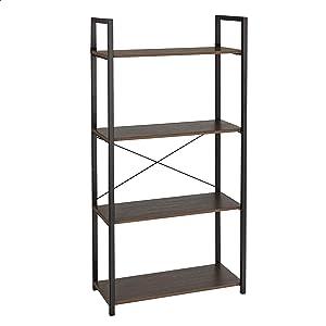 AmazonBasics Decorative Storage Shelf - 4-Tier