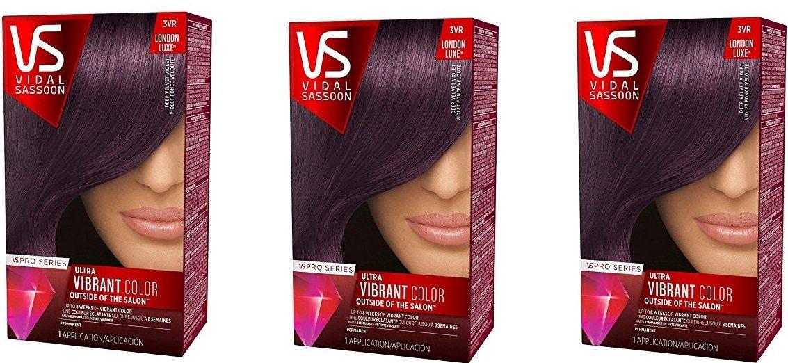 Amazon Vidal Sassoon Pro Series Hair Color 3vr Deep Velvet