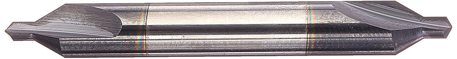 Kodiak Cutting Tools KCT118838 USA Made Solid Carbide Combination Drill and Countersink, AlTiN Coated, Size #4