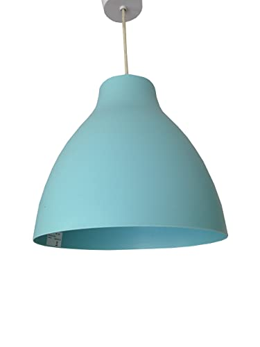 New homebase duck egg blue dome pendant ceiling light shade modern vintage