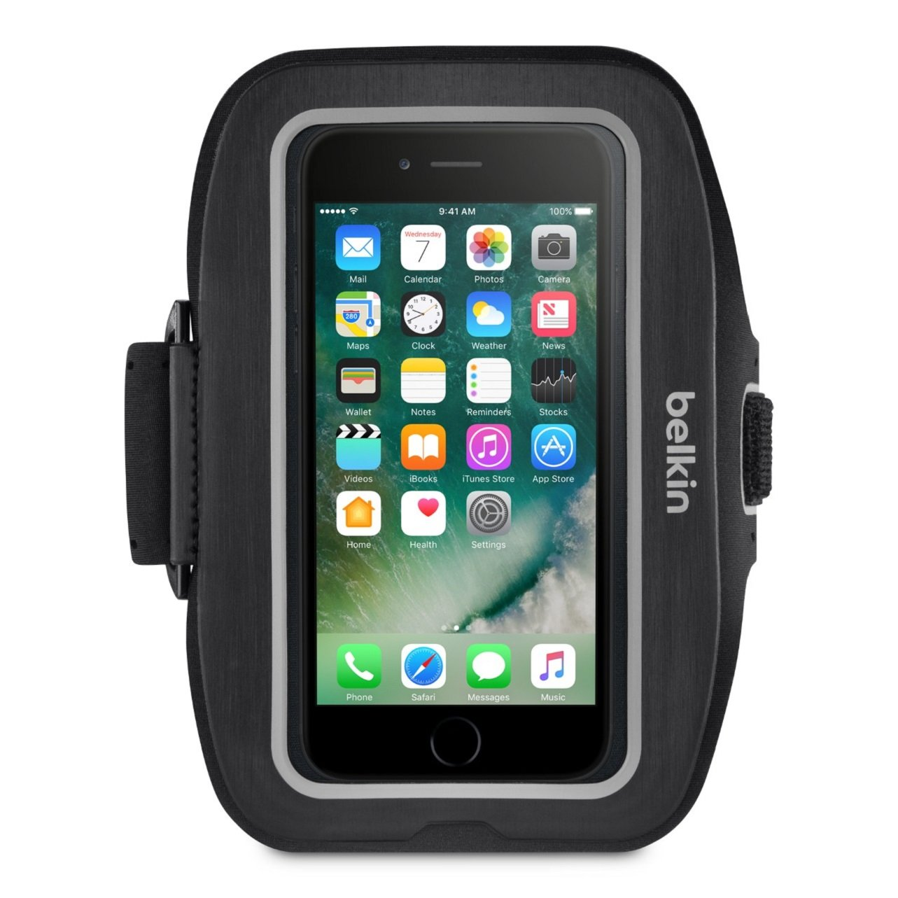 Belkin Sport-Fit Plus Armband for iPhone 7 and iPhone 8 (Blacktop) by Belkin