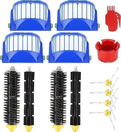 Smartide spazzole per roomba Serie 600 kit di manutenzione kit di pulizia per irobot Roomba 600 650 620 651 621 615 620 625 630 631 650 653 655 660 670 680 roomba ricambi
