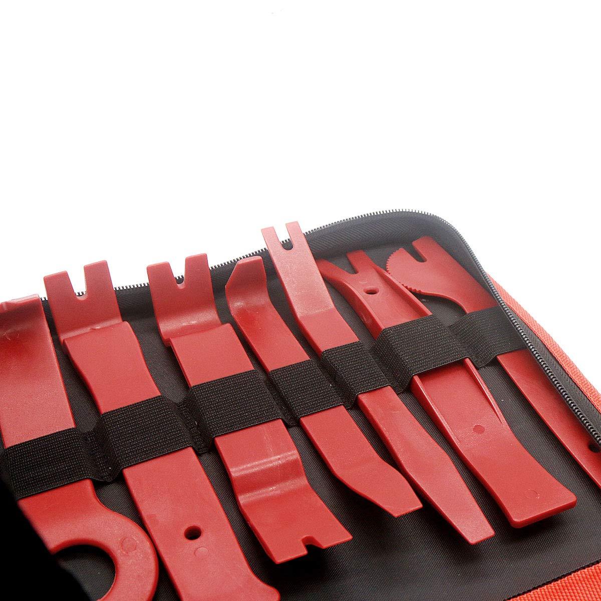DEHAO 21PCS Demontage Werkzeuge Zierleistenkeile Montage Innen-Verkleidung T/ürverkleidungs L/ösewerkzeug Auto Zubeh/ör Removal Reparatur Set auf T/ürverkleidungen Polster Zierleisten Leisten