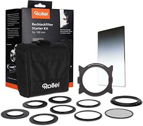 Rollei Portafiltros Mark II Starter Kit I GND8 I CPL I Bolsa I ...