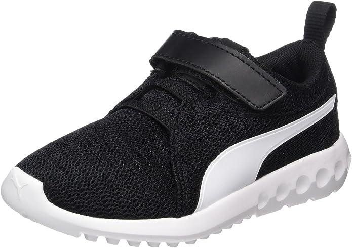 Puma Carson 2 V PS Sneakers Jungen Mädchen Unisex Kinder Schwarz