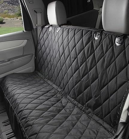 MuNiSa Waterproof Pet Dog Car Seat Cover Backseat Adjustable Hammock Blanket Mat For Cars And