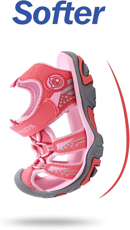 SAGUARO Sandales Enfant Gar/çon Fille Summer Bout Ferm/é Respirantes Outdoor Plage Sports Sandales