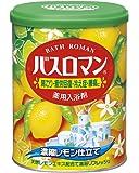 アース製薬 バスロマン 入浴剤 濃縮レモン仕立て 850g [医薬部外品]