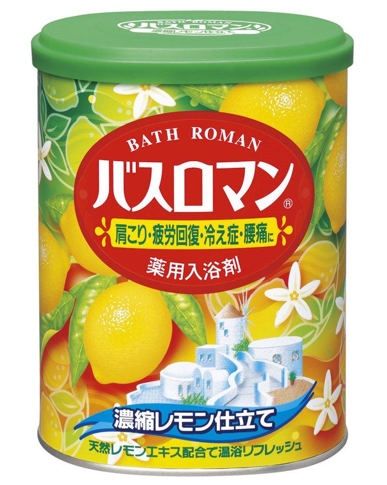 Bath Roman Lemon Japanese Bath Salts - 850g