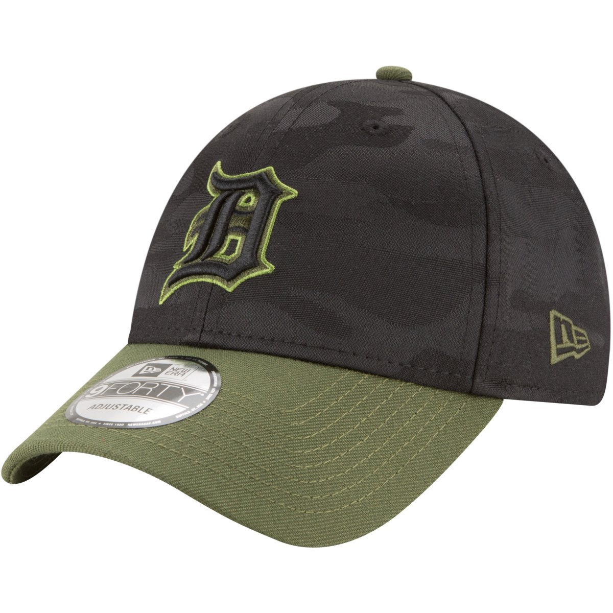 the latest 82edc 43aab ... release date amazon new era detroit tigers 2018 memorial day 9forty  adjustable hat clothing 9bc45 e85fa