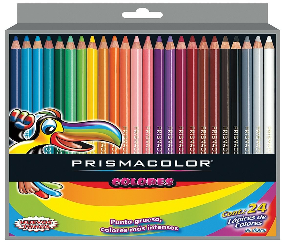 Prismacolor Scholar Colored Pencil Set, 24 Pack
