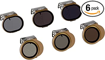 ND4 ND8 ND16 ND4//PL ND8//PL ND16//PL Juego de filtros para la cámara DJI Osmo