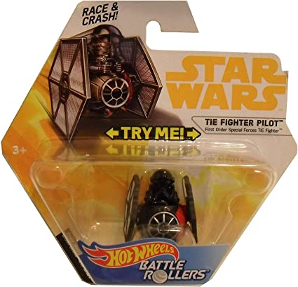 HOT WHEELS DIE CAST STAR WARS SPECIAL FORCES FIRST ORDER TIE FIGHTER