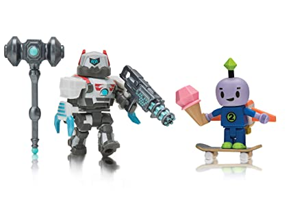 Roblox - Robot 64: Beebo and DuelDroid 5000 (Two Figure Pack)