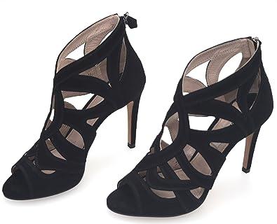 Miu Sandalo Camoscio Sandalo Miu Nero Camoscio Nero Camoscio Sandalo Miu Nero DEIH29